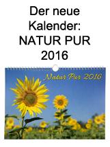 Kalender Natur Pur 2016