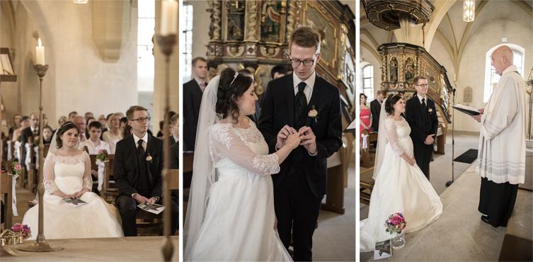 Hochzeitsbilder Vogelsberg Kirche Herbstein