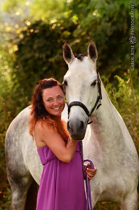 Portrait mit Pferd Tierfotos Fotograf Vogelsberg