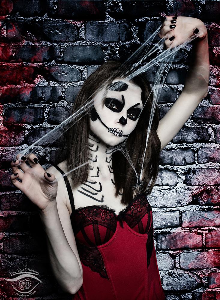 Halloweenportrait Fotoshooting Grebenhain