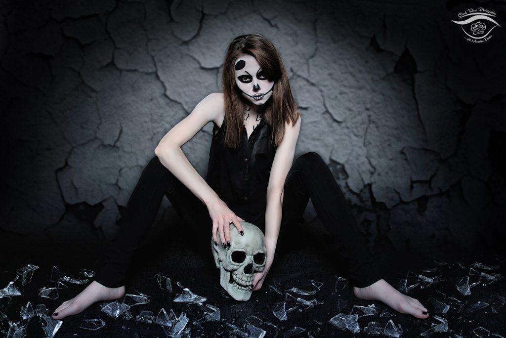 Halloween-Fotoshooting Fotograf Schotten
