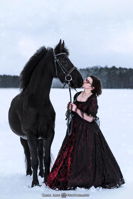 Portrait mit Pferde Tierportrait Pferdefotograf Lauterbach Herbstein