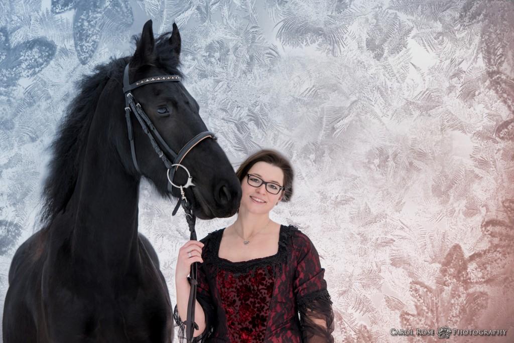 Pferdeportrait Portrait Friese Portrait Mensch und Tier Tierfotofrafie Pferdefotograf Vogelsberg