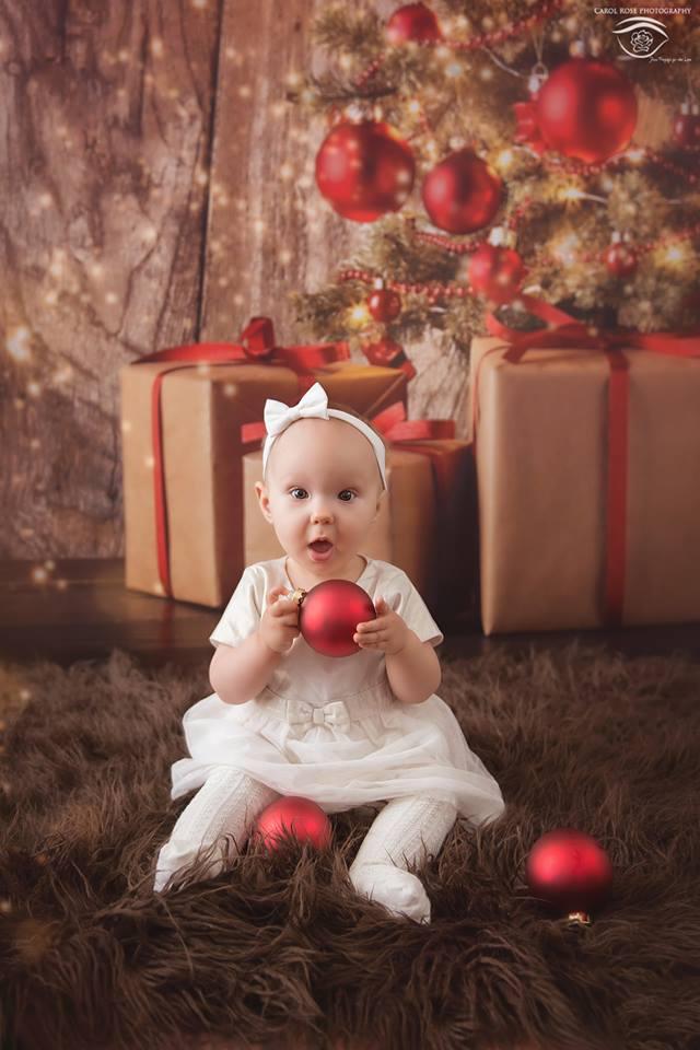 Weihnachtsgeschenk Fotograf Kinderfotoshooting Schotten
