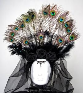 Headdress Fotoshooting Portrait Beauty-Shooting