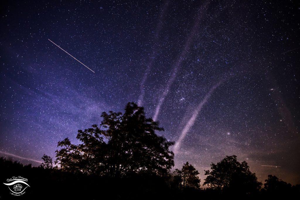 Sternenhimmel Vogelsberg Nachthimmel Perseiden 2015