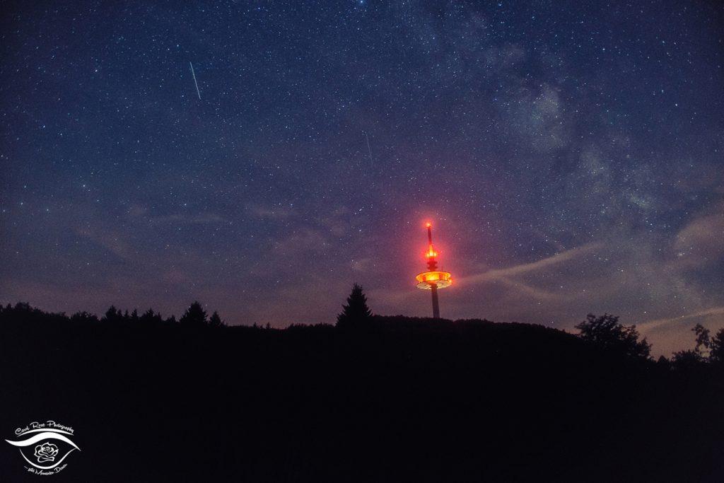Hoherodskopf Sternenhimmel Perseiden 2015