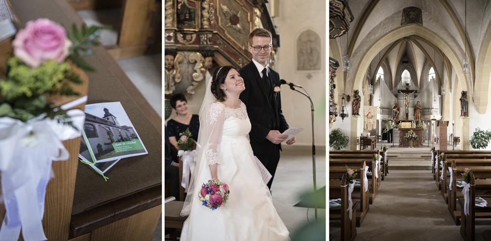 Herbsteiner Kirche Hochzeitsfotograf Osthessen