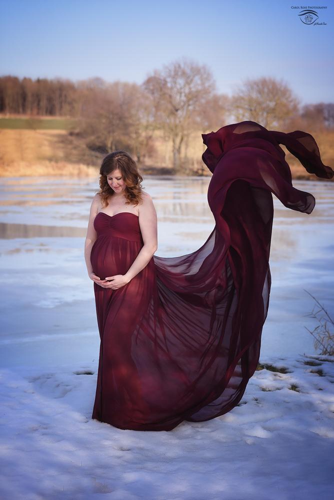 Fulda Fotoshooting Babybauchkleider Vogelsberg